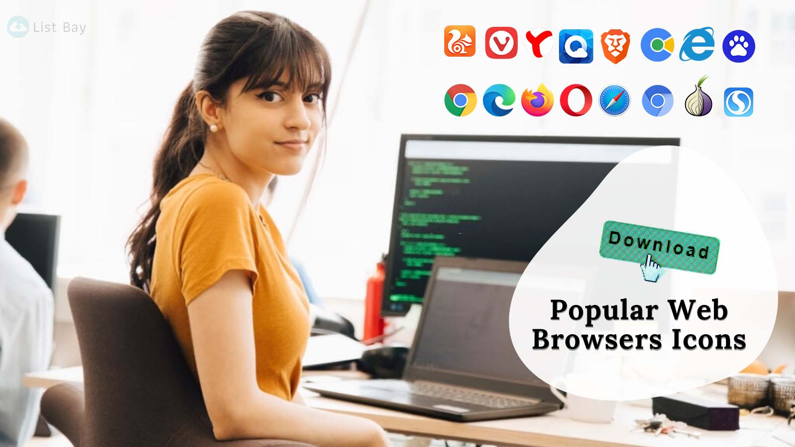 Popular Internet Browser Icons - Download Web Browsers Logos